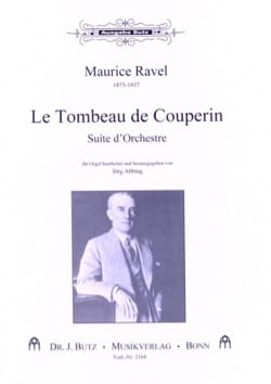 Tombeau de Couperin RAVEL Partition Orgue - laflutedepan