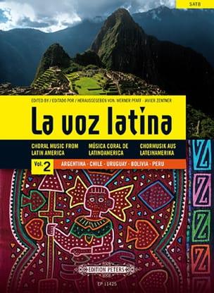 La Voz Latina. Volume 2 Partition Chœur - laflutedepan