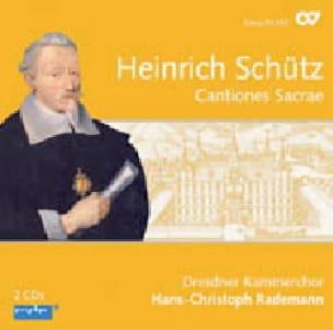 Cantiones sacrae - SCHUTZ - Partition - Chœur - laflutedepan.com