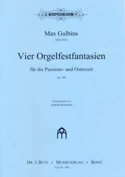 4 Orgelfantasien Für Die Passions-Und Osterzeit Op. 108 - laflutedepan.com