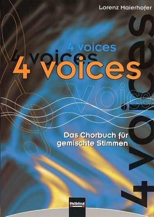 4 Voices Partition Chœur - laflutedepan