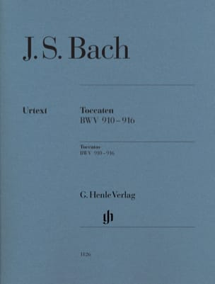 Toccaten BWV 910-916 BACH Partition Piano - laflutedepan
