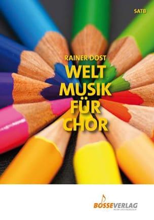 Welt Musik Für Chor Partition Chœur - laflutedepan
