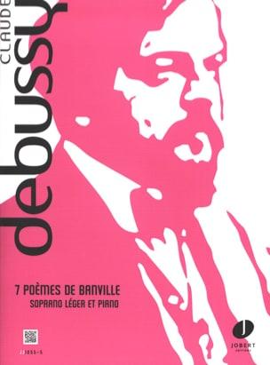 7 Poèmes De Banville DEBUSSY Partition Mélodies - laflutedepan