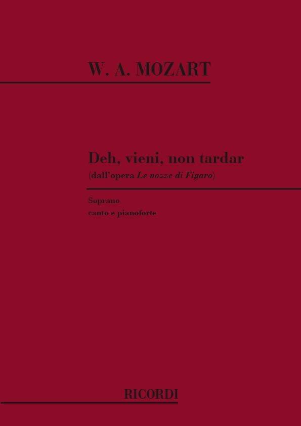 Deh Vieni Non Tardar. Nozze Di Figaro - MOZART - laflutedepan.com