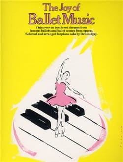 Joy Of Ballet Music Partition Piano - laflutedepan
