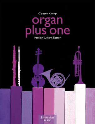 Organ Plus One. Pâques Carsten Klomp Partition Orgue - laflutedepan