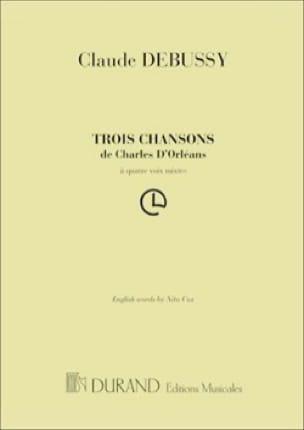 3 Chansons de Charles d' Orléans. Choeur seul - laflutedepan.com