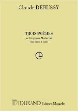 DEBUSSY - 3 Poemas de Mallarmé - Partition - di-arezzo.es