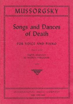 Chants et Danses de la Mort. Voix Grave MOUSSORGSKI laflutedepan