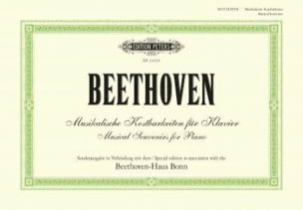 Musikalische Kostbarkeiten für Klavier - BEETHOVEN - laflutedepan.com