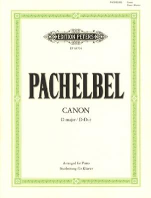 PACHELBEL - Partition - di-arezzo.co.uk