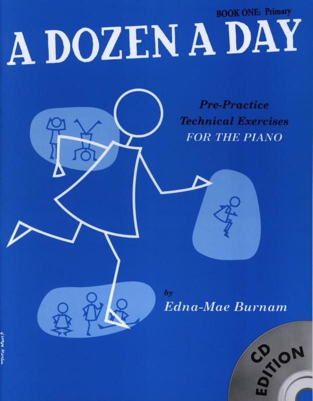 A Dozen A Day Volume 1 - avec CD en anglais - laflutedepan.com