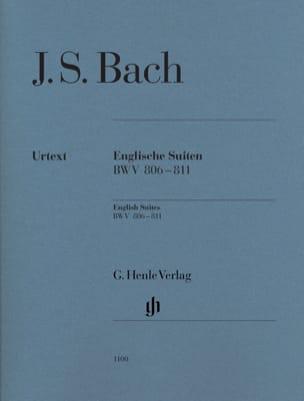Suites anglaises BWV 806-811 BACH Partition Piano - laflutedepan