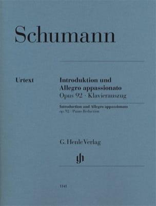Introduction et Allegro Appassionato Opus 92 SCHUMANN laflutedepan