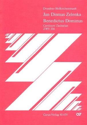 Benedictus Dominus Zwv 206 ZELENKA Partition Chœur - laflutedepan