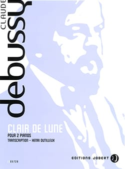 DEBUSSY - Claro de luna. 2 pianos. - Partition - di-arezzo.es