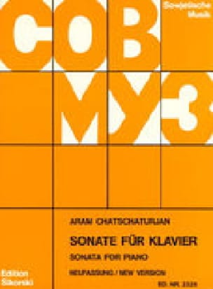 Sonate - KHATCHATURIAN - Partition - Piano - laflutedepan.com