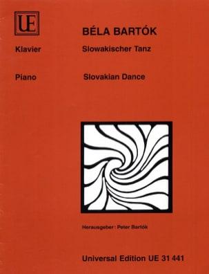 Danse Slovaque BARTOK Partition Piano - laflutedepan
