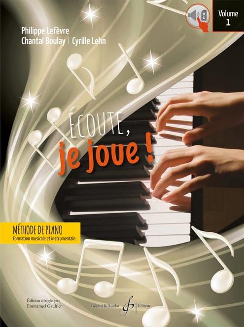 Ecoute, je joue ! - Volume 1 - Piano - laflutedepan.com