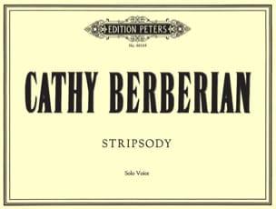 Stripsody. Cathy Berberian Partition Mélodies - laflutedepan