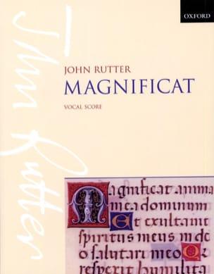 Magnificat RUTTER Partition Chœur - laflutedepan