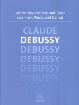 Easy Piano Pieces and Dances DEBUSSY Partition Piano - laflutedepan