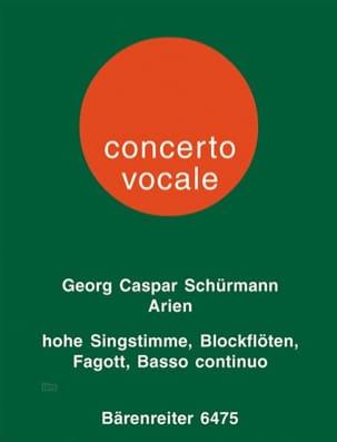 6 Arien aus Opern des Barock für hohe Singstimme, 1 oder 2 Altblockflöten und Ba laflutedepan