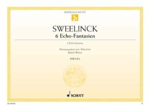 Jan Pieterszoon Sweelinck - 6 Echo-Fantasian - Partition - di-arezzo.com