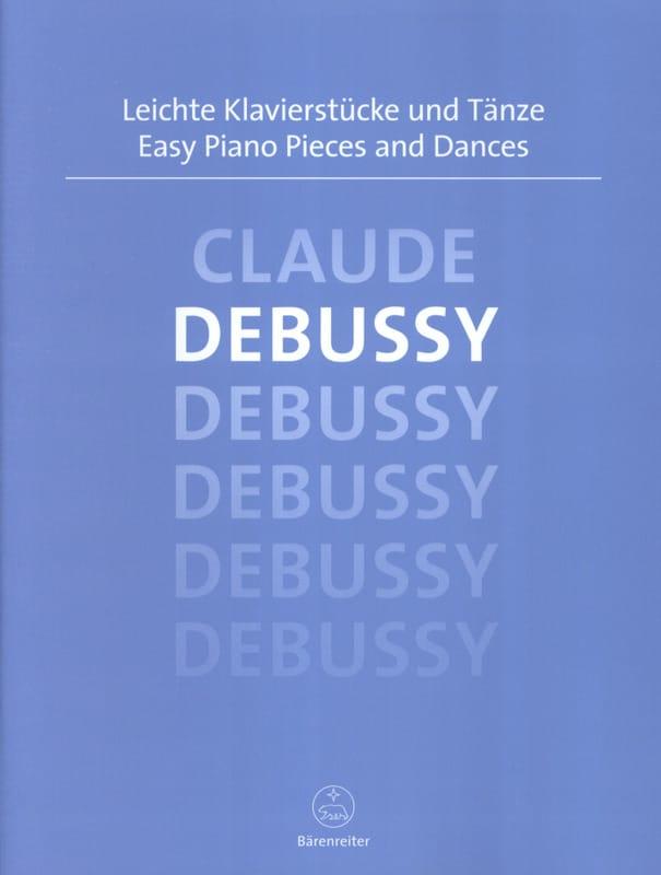 Easy Piano Pieces and Dances - DEBUSSY - Partition - laflutedepan.com