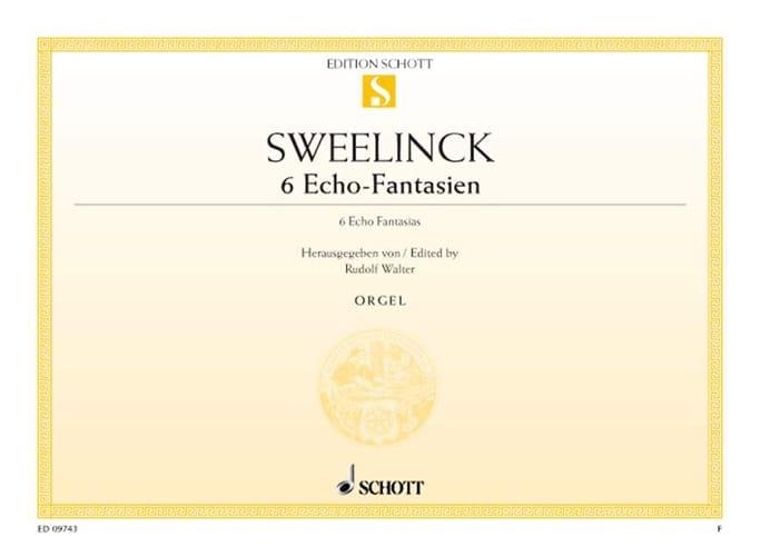 6 Echo-Fantasien - Jan Pieterszoon Sweelinck - laflutedepan.com