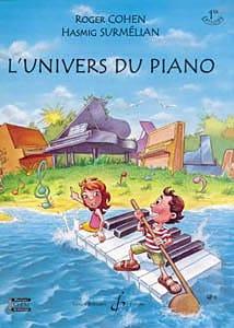 L'univers Du Piano Volume 1 COHEN / SURMELIAN Partition laflutedepan