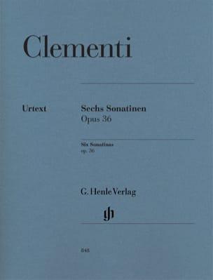 Six Sonatines Pour Piano Opus 36 CLEMENTI Partition laflutedepan