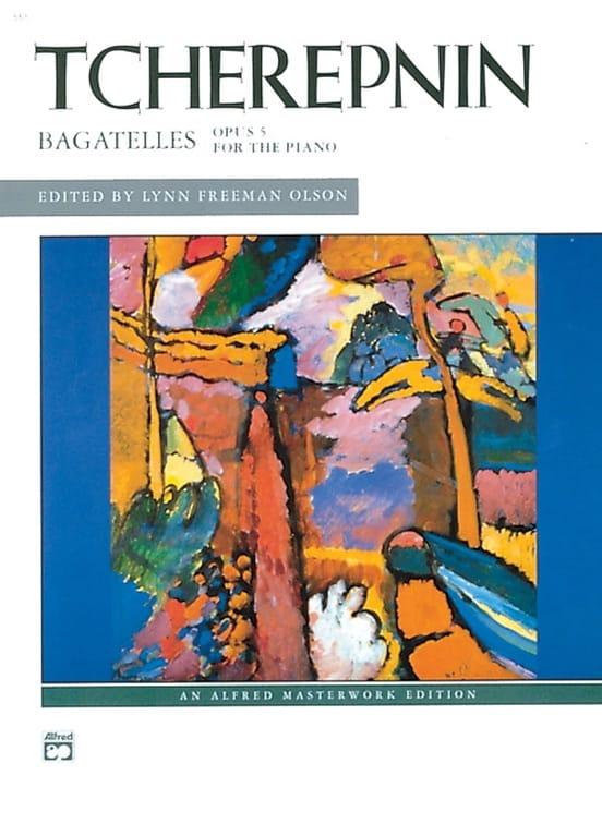 Bagatelles Op. 5 - Alexandr Tcherepnine - Partition - laflutedepan.com