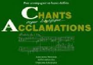 Chants et Acclamations Volume 1 - Partition - laflutedepan.com