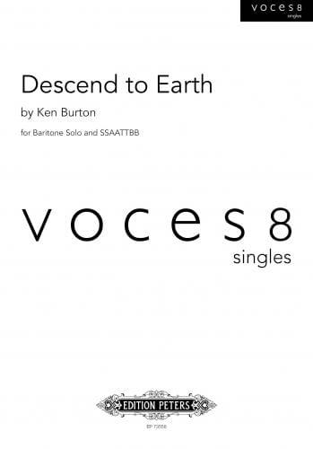 Descend to Earth - Ken Burton - Partition - Chœur - laflutedepan.com
