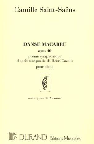 Camille Saint-Saëns - Dance Macabre Opus 40 - Partition - di-arezzo.es