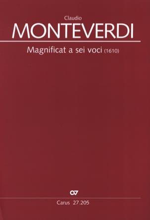 Magnificat a sei voci 1610 MONTEVERDI Partition Chœur - laflutedepan