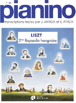Rhpasodie Hongroise n° 2 Pianino 63 - LISZT - laflutedepan.com