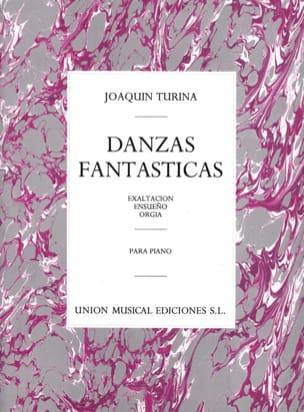 Danzas Fantasticas Opus 22 TURINA Partition Piano - laflutedepan
