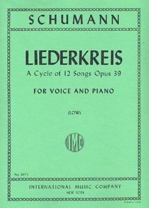 Liederkreis Opus 39. Voix Grave - SCHUMANN - laflutedepan.com