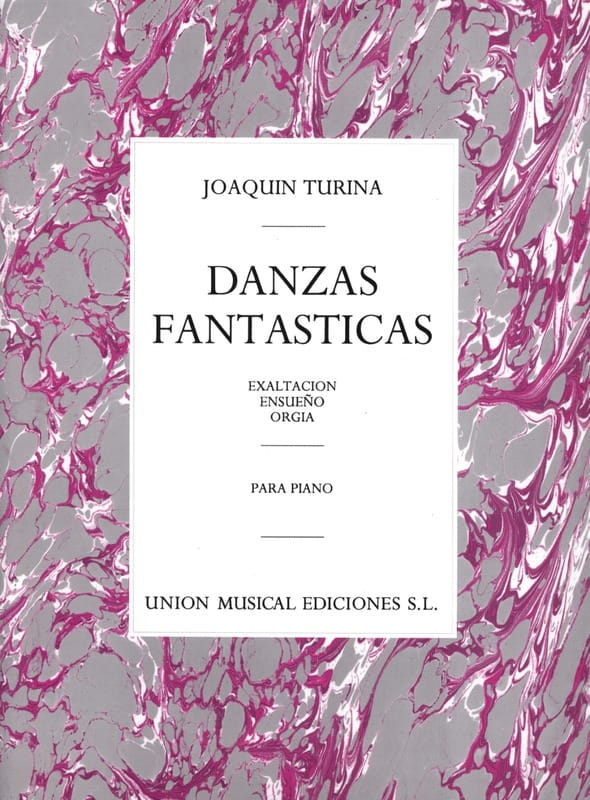 Danzas Fantasticas Opus 22 - TURINA - Partition - laflutedepan.com