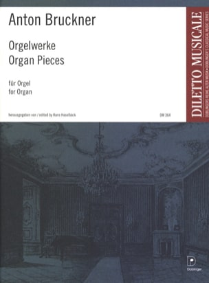 Oeuvres Pour Orgue BRUCKNER Partition Orgue - laflutedepan