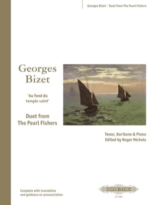 BIZET - Into the holy temple. Pearl fishermen - Partition - di-arezzo.co.uk