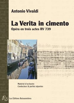 VIVALDI - The verita in cemento RV 739 - Partition - di-arezzo.co.uk