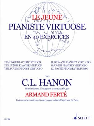 HANON - The Young Virtuoso Pianist - Partition - di-arezzo.com