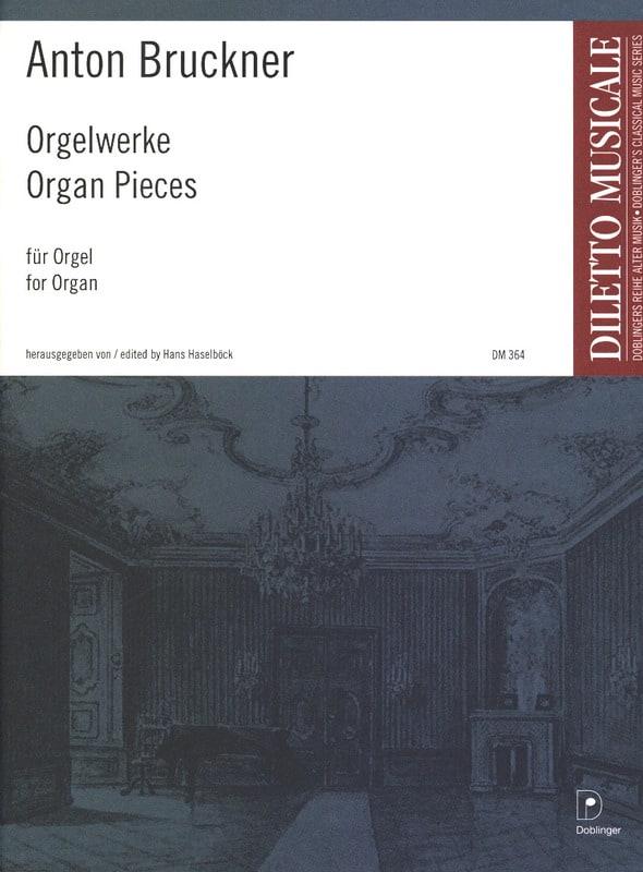 Oeuvres Pour Orgue - BRUCKNER - Partition - Orgue - laflutedepan.com