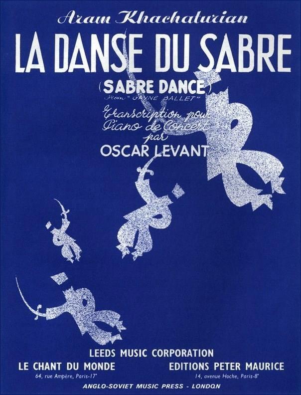 Danse Du Sabre - KHATCHATURIAN - Partition - Piano - laflutedepan.com