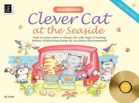 Clever Cat At The Seaside. 4 Mains - Mike Cornick - laflutedepan.com