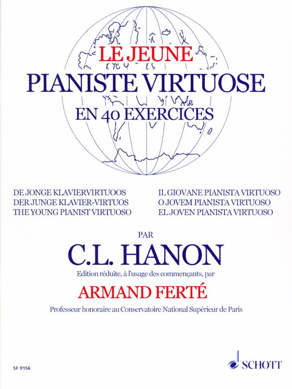 Le Jeune Pianiste Virtuose - HANON - Partition - laflutedepan.com